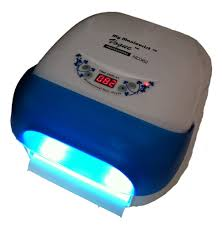 Cnd Shellac Led Lamp Wattage by Amazon Com Vogue Professional Uv Nail Lamp Light 36 W Led