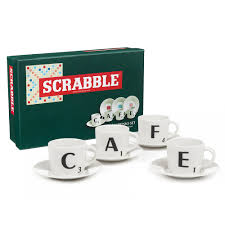 Scrabble Tile Value Calculator by Scrabble Espresso Set 8pce Peter U0027s Of Kensington