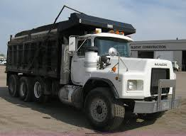 100 Tri Axle Dump Trucks 2001 Mack RB688S Triple Axle Dump Truck Item 8114 SOLD