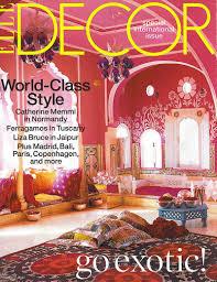 Decoration Elle Decor Magazine