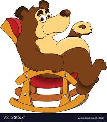 Papa Bear Vector Image