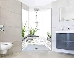 noriliving duschrückwand fliesenersatz dusche 100x200 cm