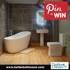 I Have Just Entered The Better Bathrooms Facebook Competition To Win
