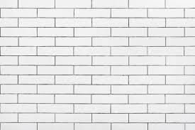 White Ceramic Tiles Wall Stock Photo
