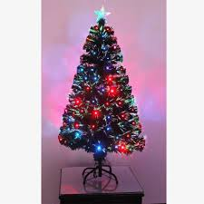 Pre Lit Pencil Christmas Trees Uk by Christmas Pre Lit Fiber Optic Christmas Tree Image Ideas Fibre