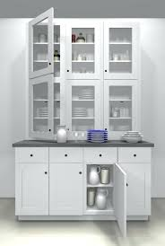 Kitchen Hutch Cabinet Dining Room Storage Cabinets Awesome Modern White And Ikea Uk Extraordinary