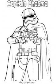 Printable Star Wars The Force Awakens Captain Phasma Coloring Pages For KidsPrint Out Online Lego Book