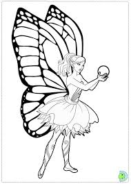 Fairy Princess Coloring Pages Free