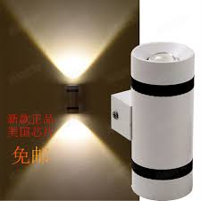 indoor two side cob 6w led wall l ktv decoration l wall