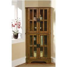 corner curio cabinets
