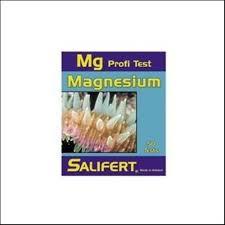 test magnesium pour aquarium eau de mer 50 tests salifer