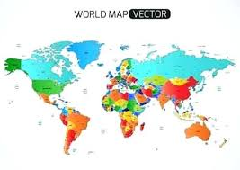 World Map Countries Also Vector With Labeled And Equator 833