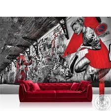 vlies fototapete no 3359 graffiti tapete pop bretterwand