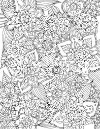 Free Coloring Sheets For Adults Pdf Alisaburke Spring Page Download Printable Pages