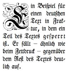 This Font Is Sperrsatz Which German But Has An Antique Feel You