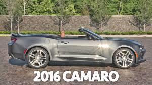 ■2016 Chevrolet Camaro Convertible Interior & Exterior