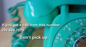 scam phone number