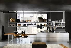 le suspendue cuisine cuisine aménagée meuble haut suspendu placard haut
