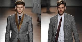 Mens Fall Retro Fashion
