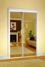 Single Patio Door Menards by Colonial Elegance Classic Mirrored Sliding Door At Menards