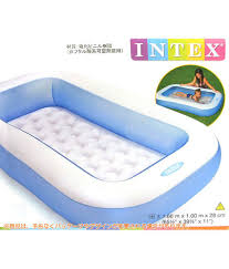 Portable Bathtub For Adults Online India by Imported By Nyrwana Square Rectangle Water Inflatable Intex Tub
