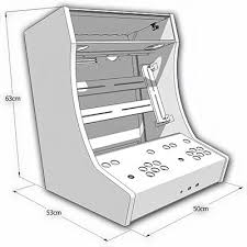 Bartop Arcade Cabinet Plans Pdf by Build Your Own Classic Arcade Game Controller Perfect For A Retro