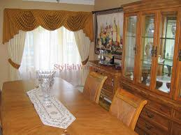 Swags Sheers And Drapes For Dining Room Window In Long Island