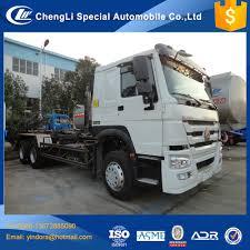 100 Truck Loader 10 Wheel Sinotruk Howo 64 Hook LiftHook 16m3 18m3