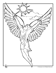 Greek Myths Coloring Page