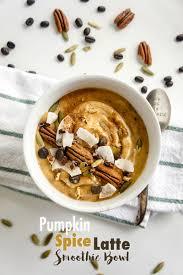 Iced Pumpkin Spice Latte Nutrition Facts by Pumpkin Spice Latte Smoothie Bowl Vitamin Sunshine