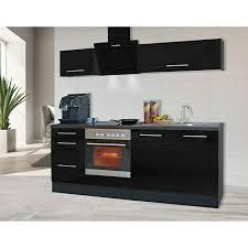 respekta premium küchenzeile rp210escbo breite 210 cm mit