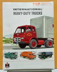 1961 International Harvester Truck Model VCO 190 200 220 VCOF 190 ...