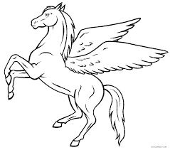Pegasus Coloring Pages For Adults Page Beautiful Barbie Pony