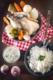 recette poule au pot riz poule au pot sauce suprême la raffinerie culinaire
