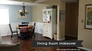 Living Room Makeovers On A Budget by Dining Room Makeover On A Budget Salvage Sister And Mister
