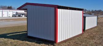 Livestock Loafing Shed Plans by Mikkey U0027s Lc Portable Steel Buildings Fence Trailers In Iowa