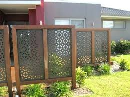 Patio Privacy Garden Privacy Ideas Outdoor Privacy Screen Ideas