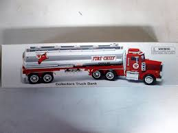 100 Texaco Toy Truck Amazoncom 1997 Fire Chief Gasoline Collectors Bank 1