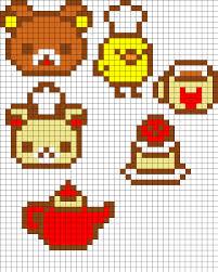 Halloween Perler Bead Projects by Rilakkuma Set Perler Bead Pattern Bead Sprites Characters Fuse