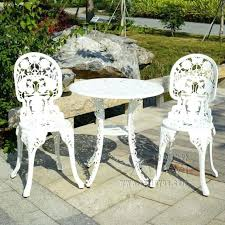 Cast Aluminum Outdoor Sets by Aluminum Outdoor Table And Chairs Aluminum Table And Chairs For