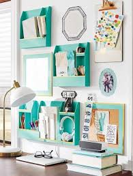 Corner Desk Organization Ideas by Best 25 Desk Wall Organization Ideas On Pinterest Regarding