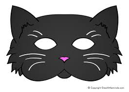 Make Your Own Black Cat Mask