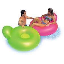 siege de piscine gonflable chaise flottante glossy intex leroy merlin