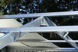Shed Anchor Kit Bunnings by Buy Topspan 61 Battens Top Hat Batten For Sheds U0026 Garages Steel