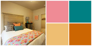 6 Sweet Spring Inspired Color Palettes For Your Apartment 644 City Station Apartments In Salt Lake Home Decor