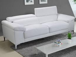 canapé en cuir blanc canape cuir blanc pas cher et canape cuir ivoir pas cher