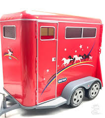 Breyer Two-Horse Trailer Traditional Accessory Red No 2611 New ... Bruder 028 Horse Trailer Cluding 1 New Factory Sealed Breyer Dually Truck Toy And The Best Of 2018 In Abergavenny Monmouthshire Gumtree Amazoncom Stablemates Crazy And Vehicle Sleich Pick Up W By 42346 Wild Gooseneck 5349 Wyldewood Tack Shopbuy Online Dually Truck Twohorse Trailer Dailyuv 132 Model Two Fort Brands