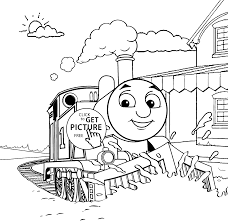 Thomas And Friends Coloring Pages Train For Kids Printable Free