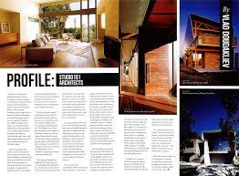 100 Houses Architecture Magazine Media Studio 101 Architects