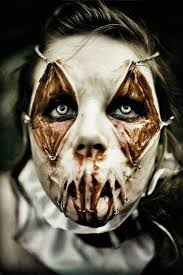 Scary Characters For Halloween by Best 25 Scary Halloween Makeup Ideas Ideas On Pinterest Scary